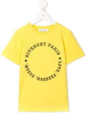 Givenchy Kids Love Freedom Dream logo T-shirt