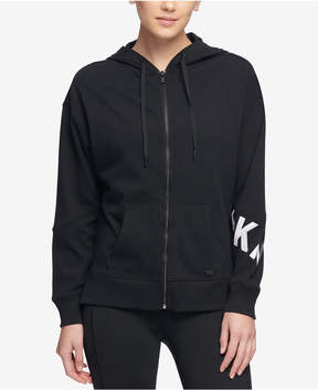 DKNY Sport Logo Zip Hoodie, Created for Macy's