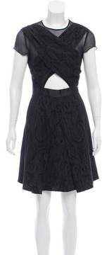 Timo Weiland Jacquard A-Line Dress