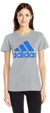 adidas Womens Women's Graphic Tee (Large)
