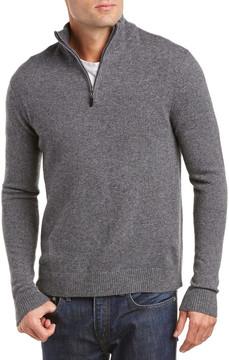 Qi Mock Neck 1/4-Zip Sweater