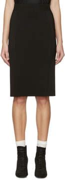 Burberry Black Knit Skirt