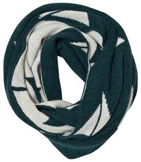 Bobo Choses Green Alma Knitted Scarf