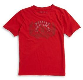 Buffalo David Bitton Boy's Vintage Graphic Tee