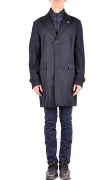 Manuel Ritz Men's Black Polyester Outerwear Jacket.