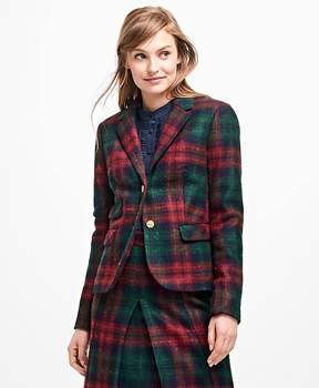 Brooks Brothers Tartan Wool Blazer
