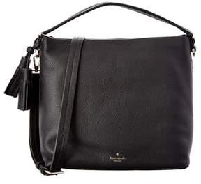 Kate Spade Orchard Street Natalya Small Leather Satchel. - BLACK - STYLE