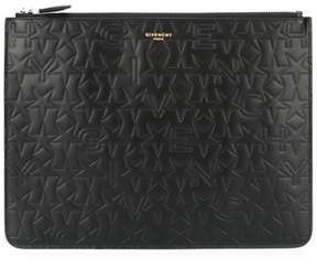 Givenchy Men's Black Leather Clutch.