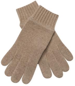 Portolano Men's Ribbed Cashmere Gloves