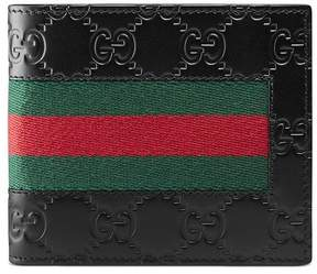 Gucci Signature Web coin wallet