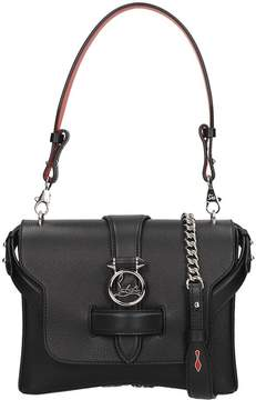 Christian Louboutin Black Leather Small Rubylou Bag
