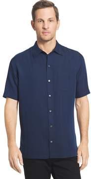 Van Heusen Men's Classic-Fit Striped Dobby Button-Down Shirt