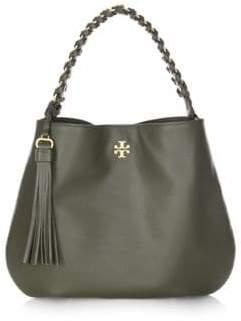 Tory Burch Brooke Leather Hobo Bag