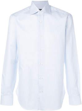 Barba checked shirt