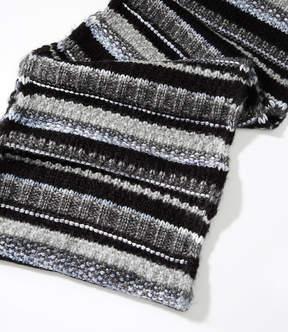 LOFT Shimmer Stripe Infinity Scarf