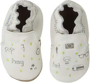 Robeez Random Icons Soft Sole Boy's Shoes