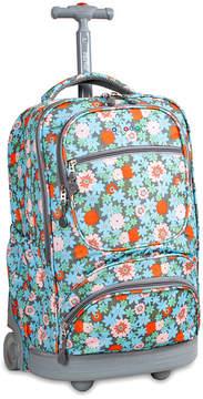 J World Sunburst Wheeled Backpack