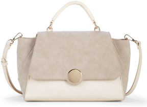 Keyon Structured Satchel w/ Circle Closure