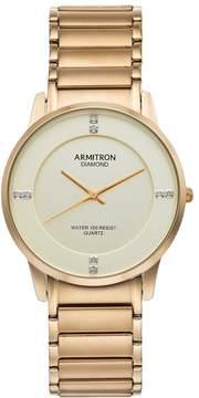 DAY Birger et Mikkelsen Armitron Men's Diamond Accent Stainless Steel Watch - 20/5246CHGP
