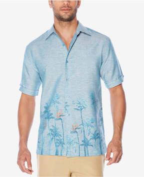Cubavera Men's Palm-Print Shirt