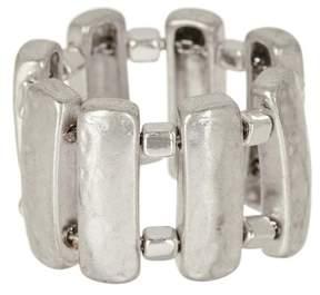 Robert Lee Morris Sculptural Rectangle Ring - Size 7.5
