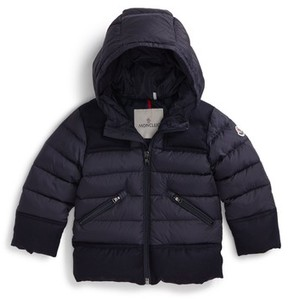 Moncler Toddler Boy's Hector Hooded Down Jacket