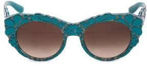 Dolce & Gabbana Cat Eye Sunglasses Dg4267 3000/13 53.