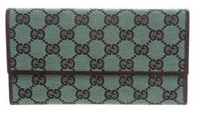 Gucci GG Long Wallet - GREEN - STYLE