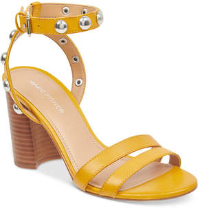Marc Fisher Lantern Studded City Sandals Women's Shoes