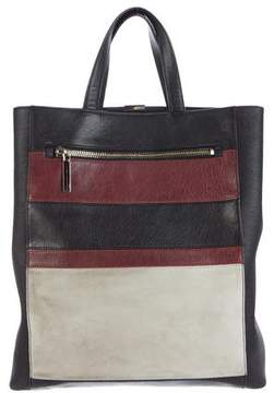 Victoria Beckham Tricolor Leather Tote