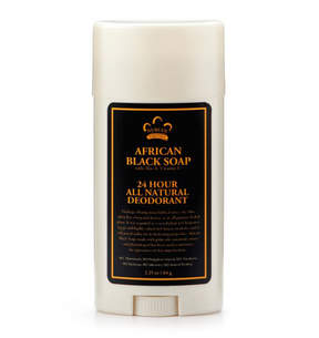 Nubian Heritage African Black Soap 24hr Deodorant Stick by 2.25oz Deo Stick)