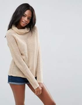 Brave Soul Roll Neck Sweater