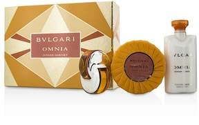 Bvlgari Omnia Indian Garnet Coffret: Eau De Toilette Spray 15ml/0.5oz + Scented Soap 150g/5.3oz + Body Lotion 75ml/2.5oz