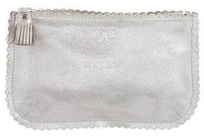 Anya Hindmarch Metallic Leather Pouch