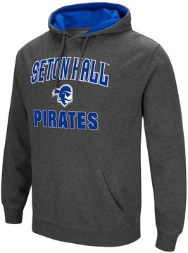Colosseum Men's Campus Heritage Seton Hall Pirates Pullover Hoodie