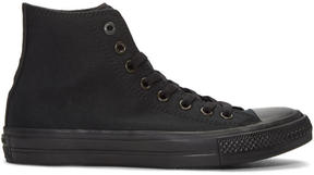 Converse Black Chuck Taylor All Star II High-Top Sneakers