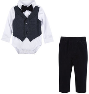 Andy & Evan Two-Piece Suit Set, Size 3-24 Months