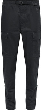 Nikelab Essentials Slim-Fit Tapered Stretch-Cotton Twill Cargo Trousers