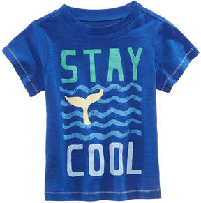 First Impressions Graphic-Print T-Cotton Shirt, Baby Boys, Created for Macy's