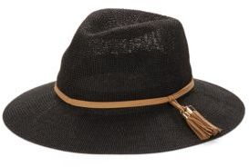 Collection 18 Tassel Accented Panama Hat