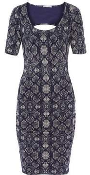 Tart Collections Jasmin Cutout Printed Modal-Blend Dress