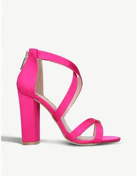 Miss KG Faun strappy satin sandals