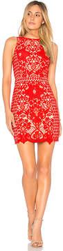 Endless Rose x REVOLVE High Neck Floral Crochet Dress