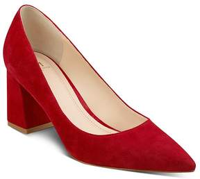 Marc Fisher Zala Suede Pointed Toe Pumps