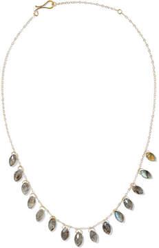 Melissa Joy Manning 14-karat Gold Labradorite Necklace