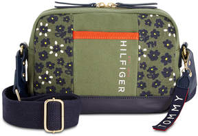 Tommy Hilfiger Floral Carmel Camera Crossbody