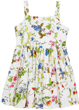 Milly Minis Emaline Floral-Print Dress, Size 8-14