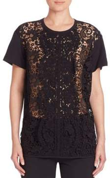 N°21 Lace-Front Tee