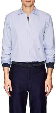 Massimo Alba Men's Lattice & Checked Cotton Shirt