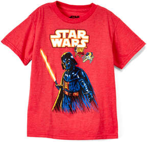 Star Wars Heather Red Darth Vader Tee - Boys
